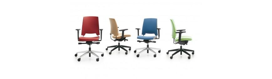 Krzesła biurowe obrotowe, ergonomiczne