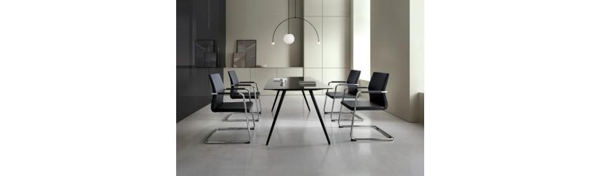 Krzesła konferencyjne, fotele Skyline